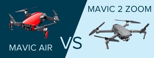 Mavic Air vs Mavic 2 Zoom