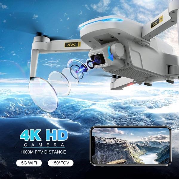dron camara 4K HD y 5G Wifi