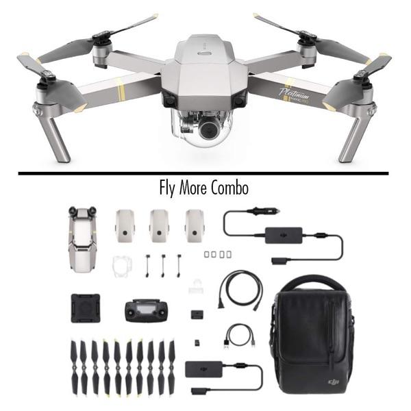 DJI Mavic Pro Platinum Fly More Combo-Dron profesional Quadricoptero