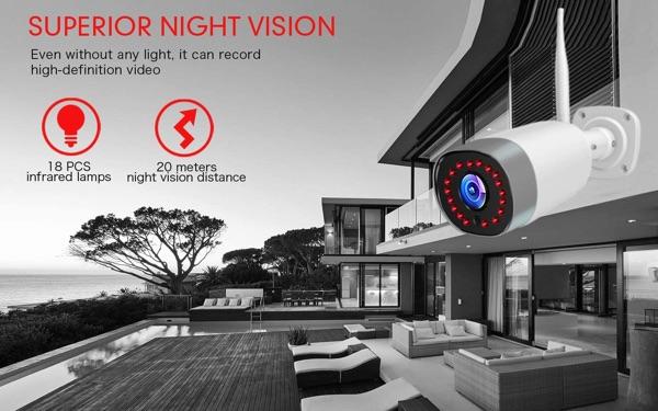 Mibao camara vision nocturna superior