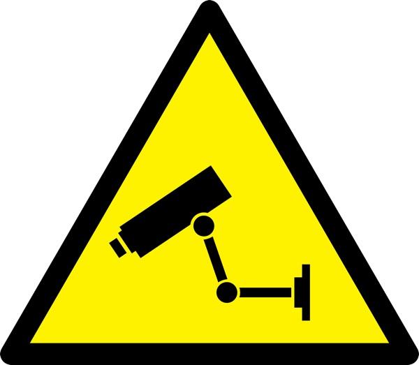 señal videovigilancia