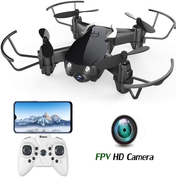 Eachine E61HW – Mini dron con cámara 720P