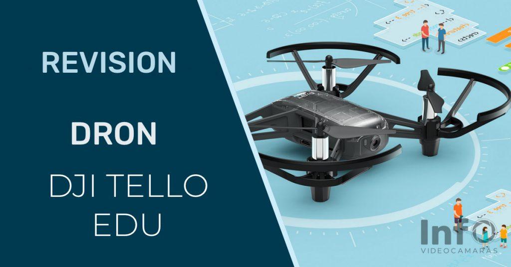 Revision dron DJI Tello EDU