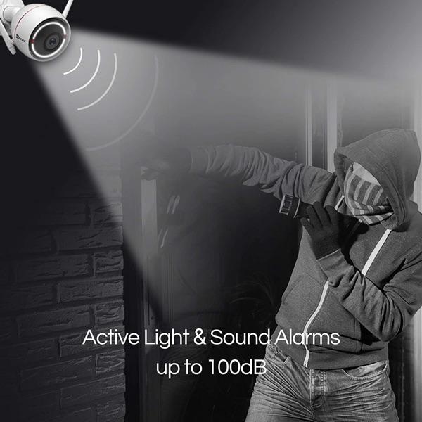 camara activa luz con movimiento