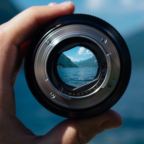 fotografia zoom objetivo