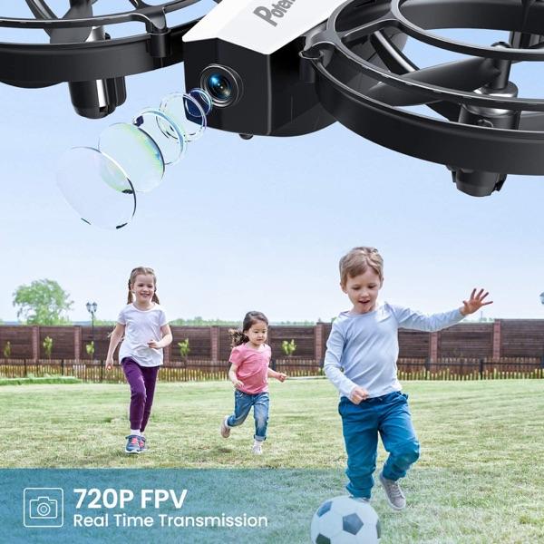 drones jugar con niños